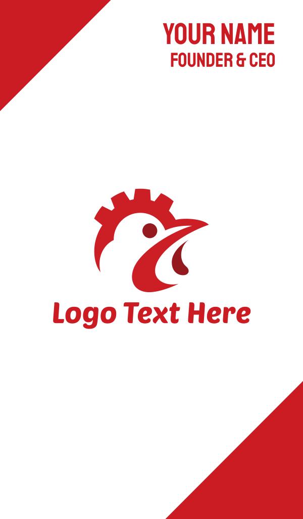 Industrial Chicken Business Card