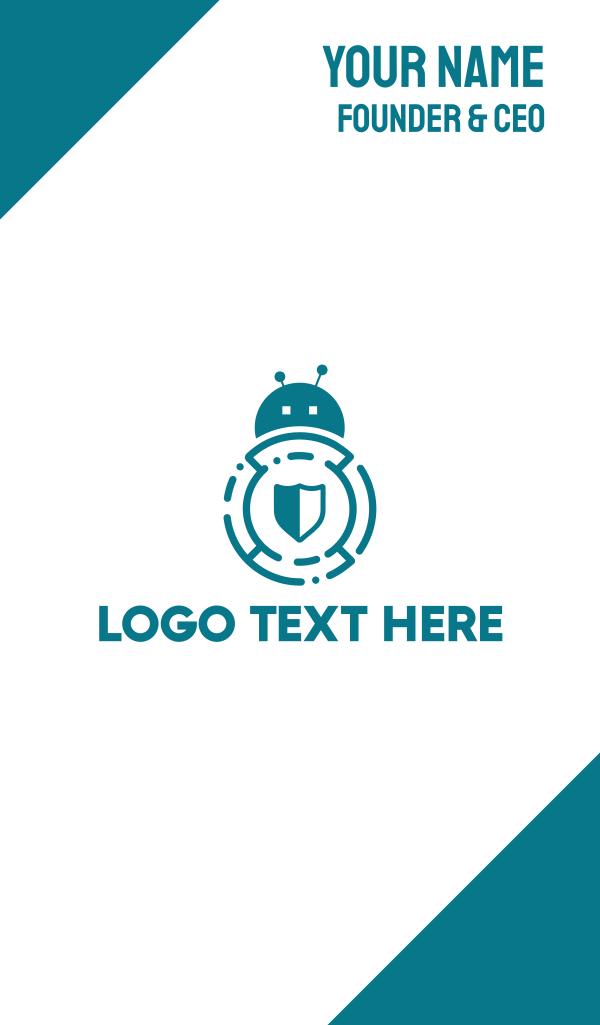 Bug Bot Shield Business Card