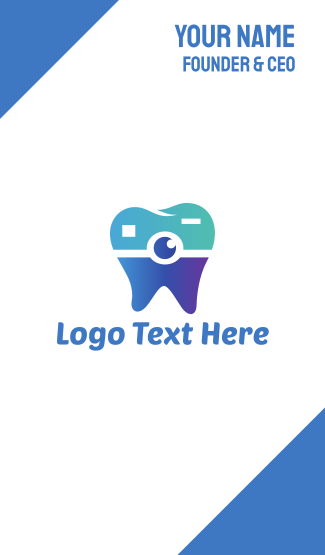 Tooth Camera Business Card