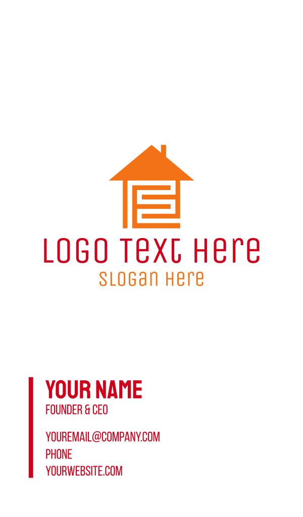 Home Maze Business Card