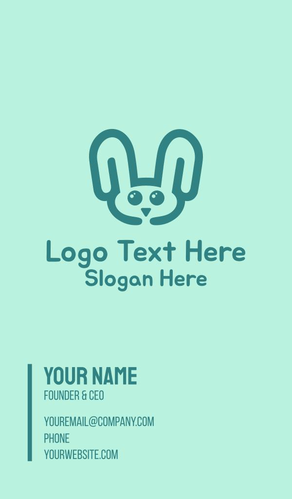 Rabbit Head Business Card
