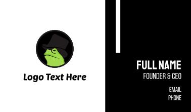 Mister Frog Business Card