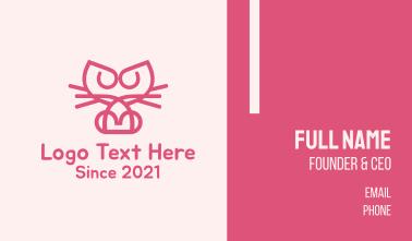 Kitty Cat Kitten Business Card