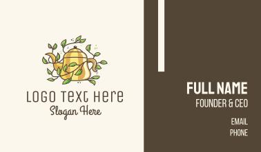 Kettle Teapot Vine Business Card