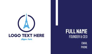 Eiffel Circle Business Card