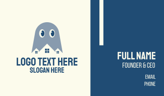 Ghost House Studio Business Card