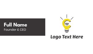 Bulb & Idea Business Card