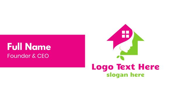 derma - Derma House Business card horizontal design