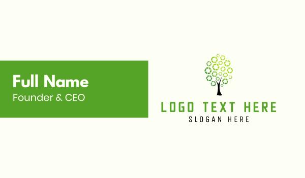 tree - Nature Photography Business card horizontal design