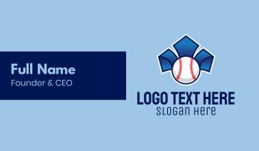 Baseball Pitch  Business Card