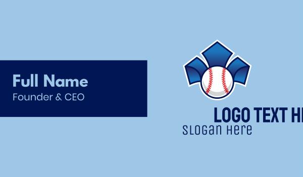 baseball tournament - Baseball Pitch  Business card horizontal design