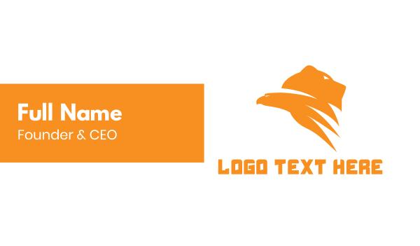 tandem - Bear Hawk Gaming Business card horizontal design