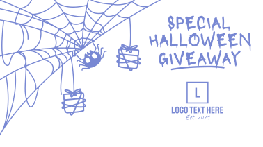 Spider Web Halloween Facebook event cover