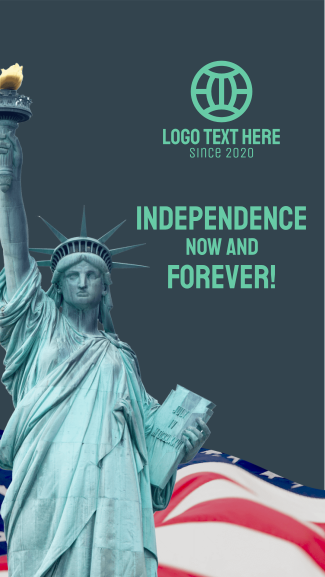 Independence Now Facebook story