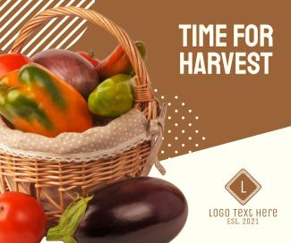 Harvest Vegetables Facebook post