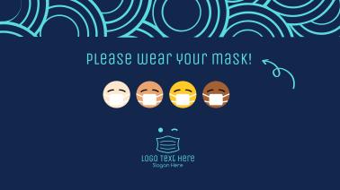 Mask Emoji Facebook event cover
