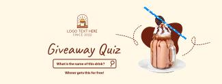 Giveaway Quiz Facebook cover