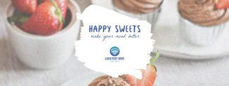 Happy Sweets Facebook cover