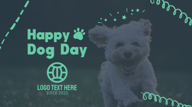 Happy Dog Day Facebook event cover