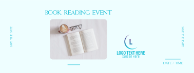 Book Reading Event Facebook cover