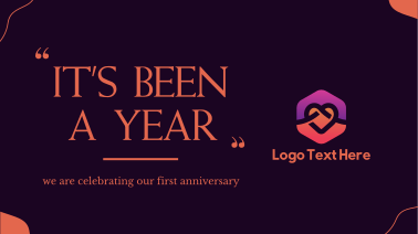 It's Been A Year Facebook event cover