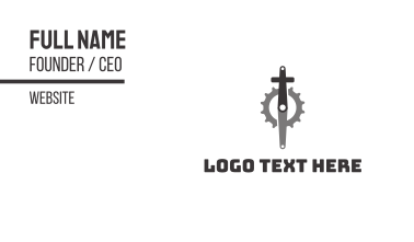 Christian Cycling Business Card