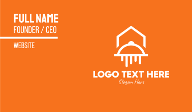 Food Home Delivery Service Business Card