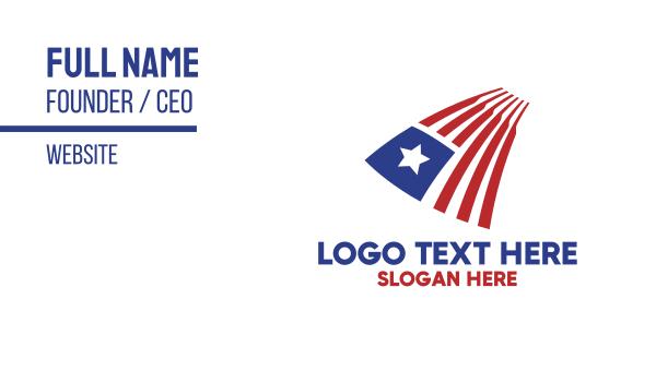 liberia - Liberian Flag Business card horizontal design