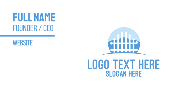cryotherapy - Cloud Gate Business Company Business card horizontal design