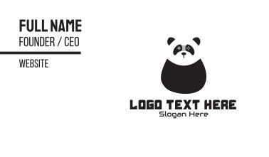Panda Gaming Mascot  Business Card