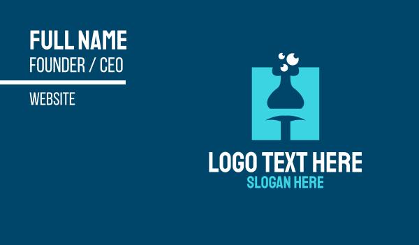 mixture - Laboratory Letter H Business card horizontal design