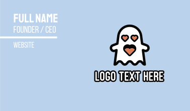 Love Ghost Business Card