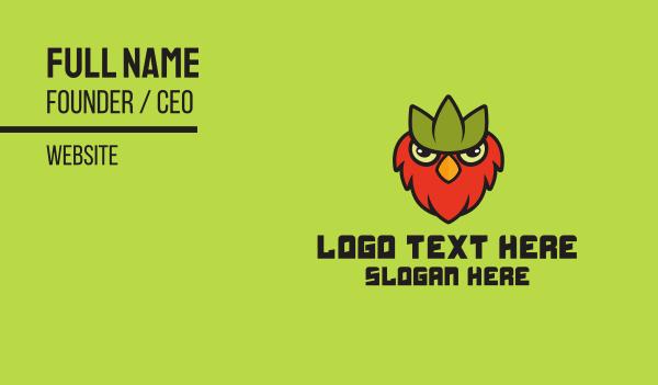 sanctuary - Esports Bird Gaming Game Business card horizontal design
