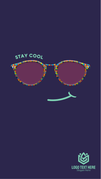 Stay Cool Glasses Facebook story