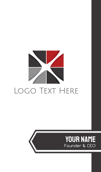 Cross Tile Business Card
