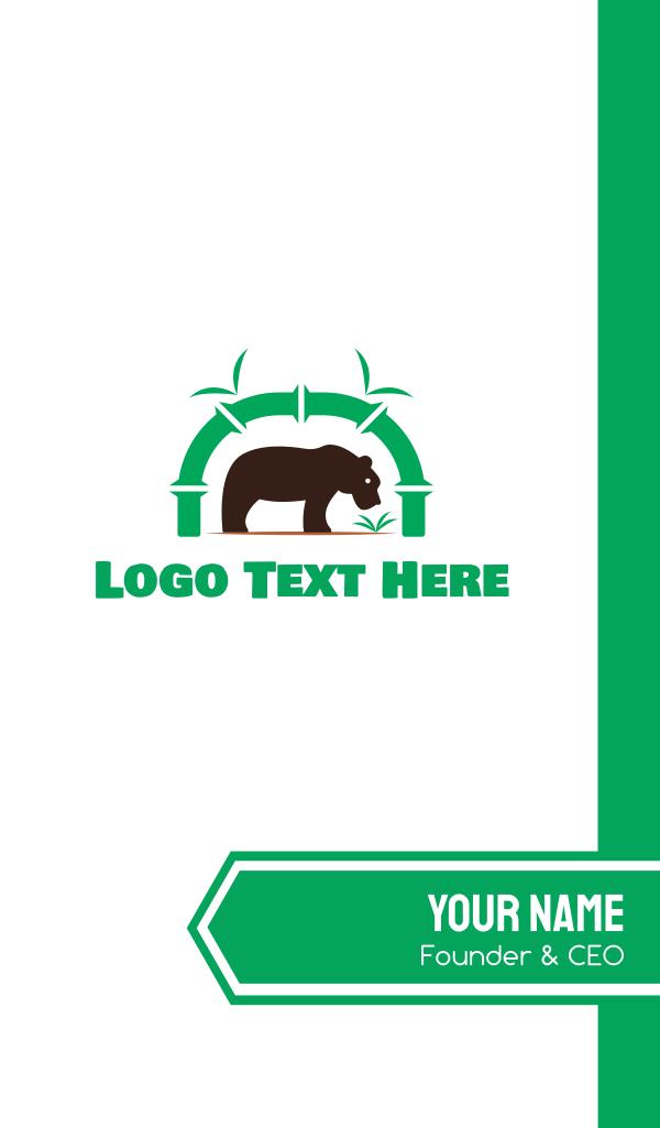 Bear Park Business Card