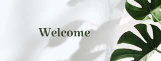 Welcome Plant Shop Facebook cover