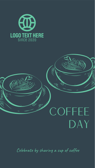 Coffee Day Latte  Facebook story