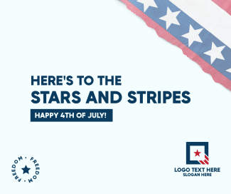 Stars and Stripes Facebook post