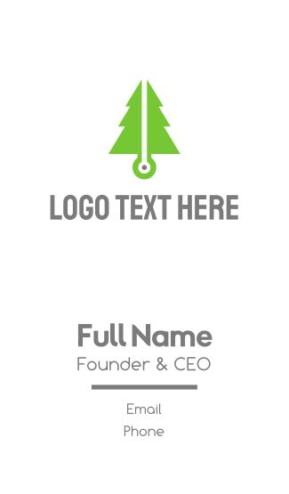 Pine Tech Business Card