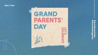 Grandparent's Day Paper Facebook Event Cover