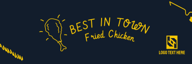 Fried Chicken Twitter header (cover)