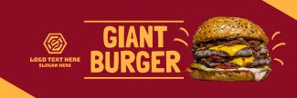 Double Cheese Burger Twitter Header