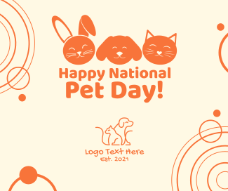 National Pet Day Facebook post