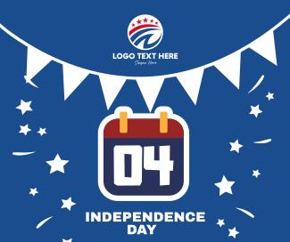 Independence Day Calendar  Facebook post