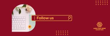 Follow Us Search  Bar Twitter header (cover)