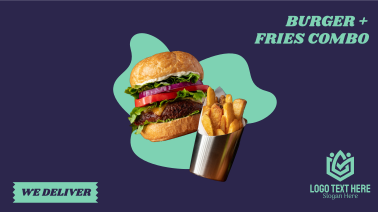Burger Fries Facebook event cover
