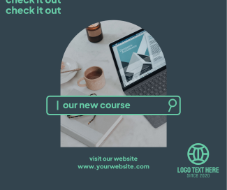 New Course Facebook post