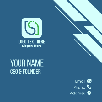 Eco Water App Business Card