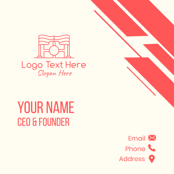 Red Flag Photography Business Card
